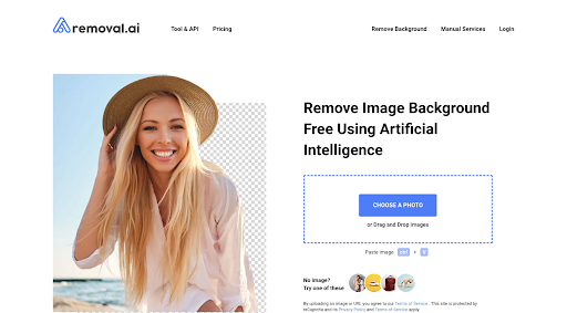 5. Removal.AI: Background Remover