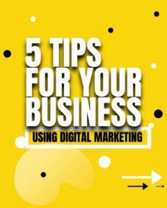 Digital Marketing Tips template
