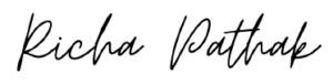 Signature Richa Pathak