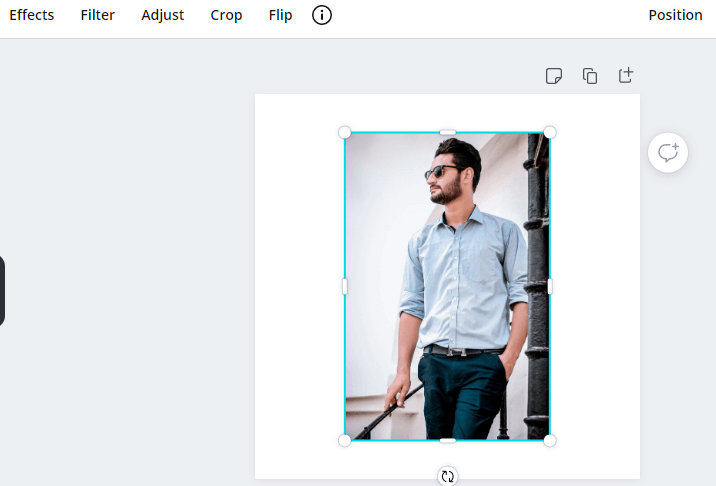 filter and effects in Canva