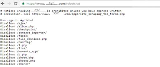 Improve The Robots.Txt File