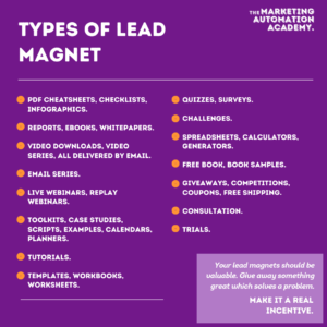 Experiment with Lead Magnets