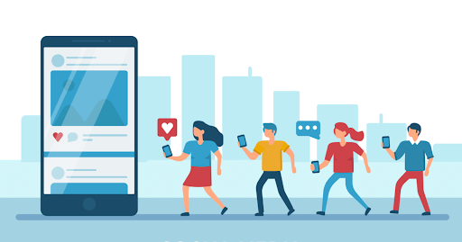 Leverage on social media communities